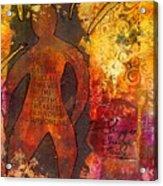 The Medicine Man Acrylic Print