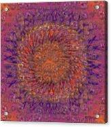 The Meditation Of Souls Acrylic Print