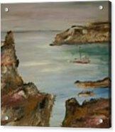 The Mediteranean Coastline Acrylic Print