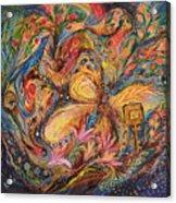 The Mediterranean Blues Acrylic Print