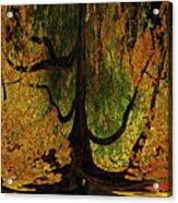 The Melting Tree Acrylic Print