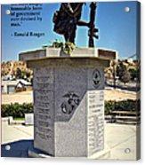 The Memorial Acrylic Print