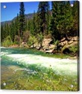 The Merced River In Yosemite Acrylic Print