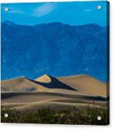 The Mesquite Dunes Acrylic Print