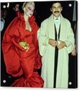 The Met Set Valerie Arnoff And Larry Legaspi Acrylic Print
