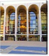 The Metropolitan Opera House Acrylic Print