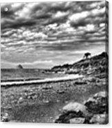 The Mewstone, Wembury Bay, Devon #view Acrylic Print