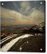 The Midnight On Malvern Hills Acrylic Print