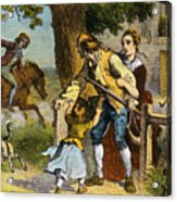 The Midnight Ride Of Paul Revere 1775 Acrylic Print