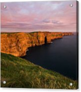 The Mighty Cliffs Of Moher In Ireland Acrylic Print