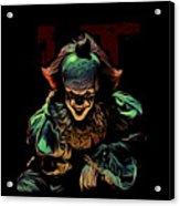 the Mighty Clown Acrylic Print