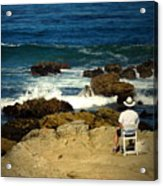 The Mighty Pacific Grab A Chair And Watch The Show Three Acrylic Print