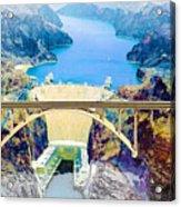 The Mike O'callaghan Pat Tillman Memorial Bridge Acrylic Print
