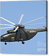 The Mil Mi-26 Cargo Helicopter Acrylic Print