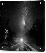 The Milky Way Express Acrylic Print