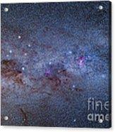 The Milky Way Through Carina And Crux Acrylic Print