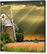 The Mill On The Marsh Acrylic Print