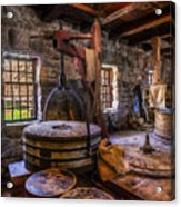 The Milling Room Acrylic Print by Mark Papke