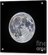 The Mini-moon Of March 5, 2015 Acrylic Print