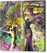 The Miraculous Conception Acrylic Print