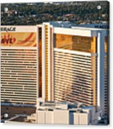 The Mirage Hotel Acrylic Print by Andy Smy