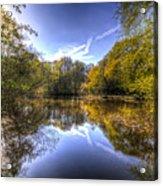 The Mirror Pond Acrylic Print