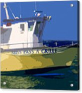 The Miss Pass A Grille Acrylic Print
