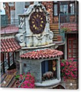 The Mission Inn Clock Tower Acrylic Print