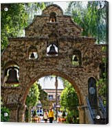 The Mission Inn Entrance Acrylic Print