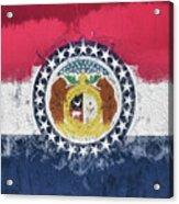 The Missouri Flag Acrylic Print