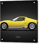 The Miura Sv 1972 Acrylic Print