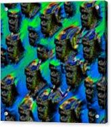 The Mob Acrylic Print