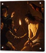 The Mocking Of Christ Acrylic Print