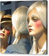 The Modern Girls Acrylic Print
