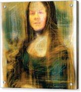 The Mona Lisa Acrylic Print