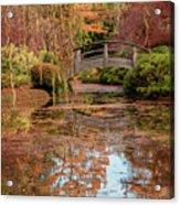 The Monet Bridge Acrylic Print