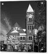 The Monongalia County Courthouse - Morgantown West Virginia Acrylic Print