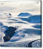 The Monte Rosa Glacier In Switzerland Acrylic Print