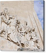 The Monument To The Discoveries Acrylic Print