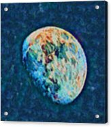 The Moon Acrylic Print