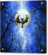 the moon of Lunala Acrylic Print
