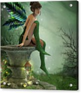 The Moonlight Fairy Acrylic Print