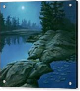 The Moonlight Hour Acrylic Print