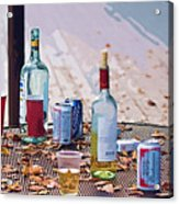 The Morning After The Party Acrylic Print