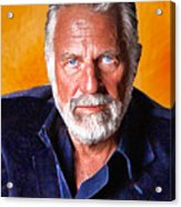 The Most Interesting Man In The World II Acrylic Print