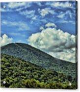 The Mountain Meets The Sky Acrylic Print