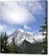 The Mountain  Mt Rainier  Washington Acrylic Print