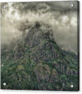 The Mountains Of Alaska  Acrylic Print