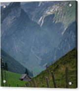 The Mountains Of Switzerland Acrylic Print