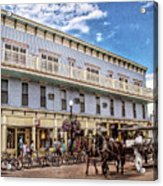 The Murray Hotel At Mackinac Island Acrylic Print